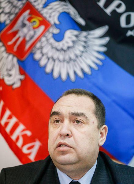 Лидер Луганской народной республики (ЛНР) Игорь Плотницкий.
