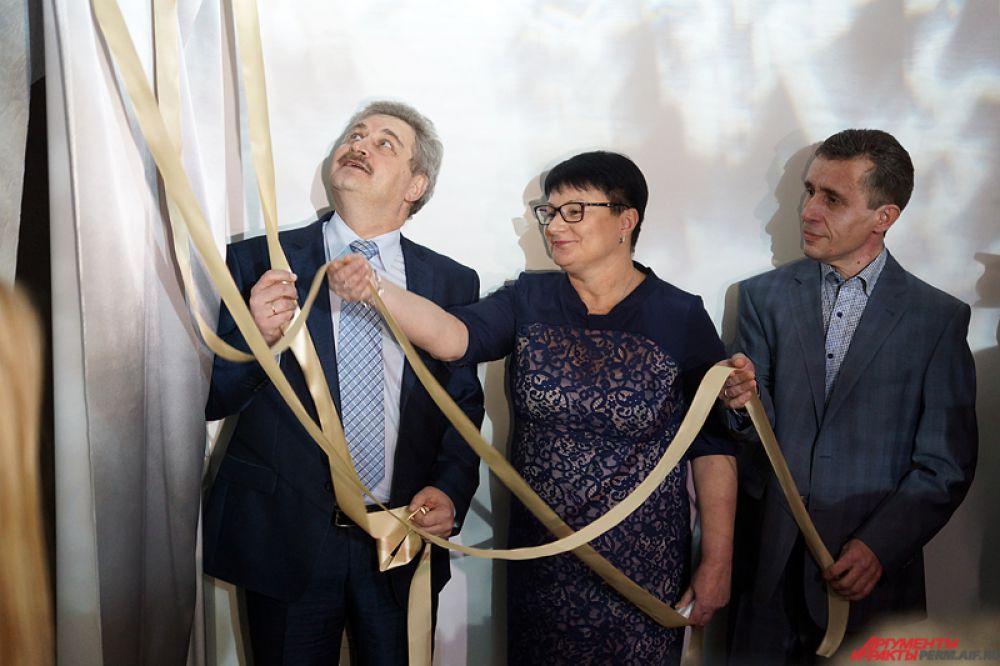 В открытии Селенитовой комнаты участвовал Игорь Гладнев, министр культуры Пермского края.