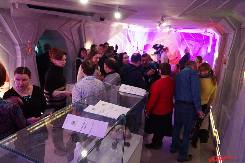 Селенитовая комната открывается для жителей города в воскресенье, 15 февраля.