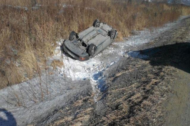 Авария в Партизанскм районе Приморья