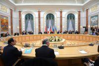 Минские переговоры лидеров «нормандской четвёрки» по вопросу урегулирования конфликта в Донбассе.