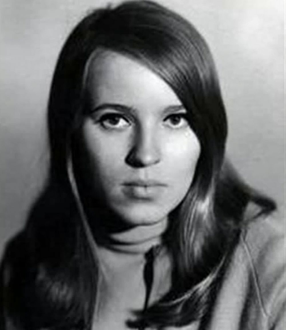 Председатель Совета Федерации Федерального Собрания Российской Федерации Валентина Матвиенко в 1960-х годах.