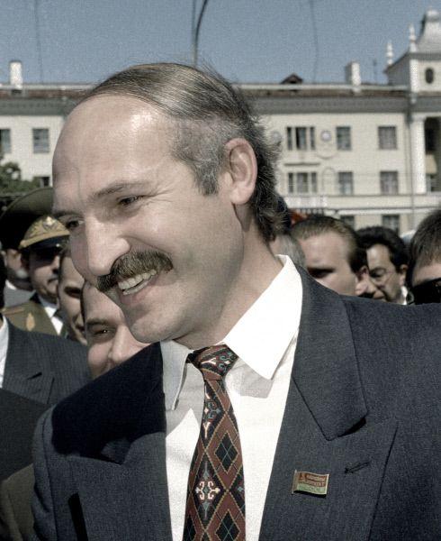 Президент Белоруссии Александр Лукашенко. 1994 год.