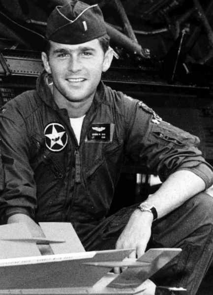 Джордж Буш-младший. 1968-1973 годы.