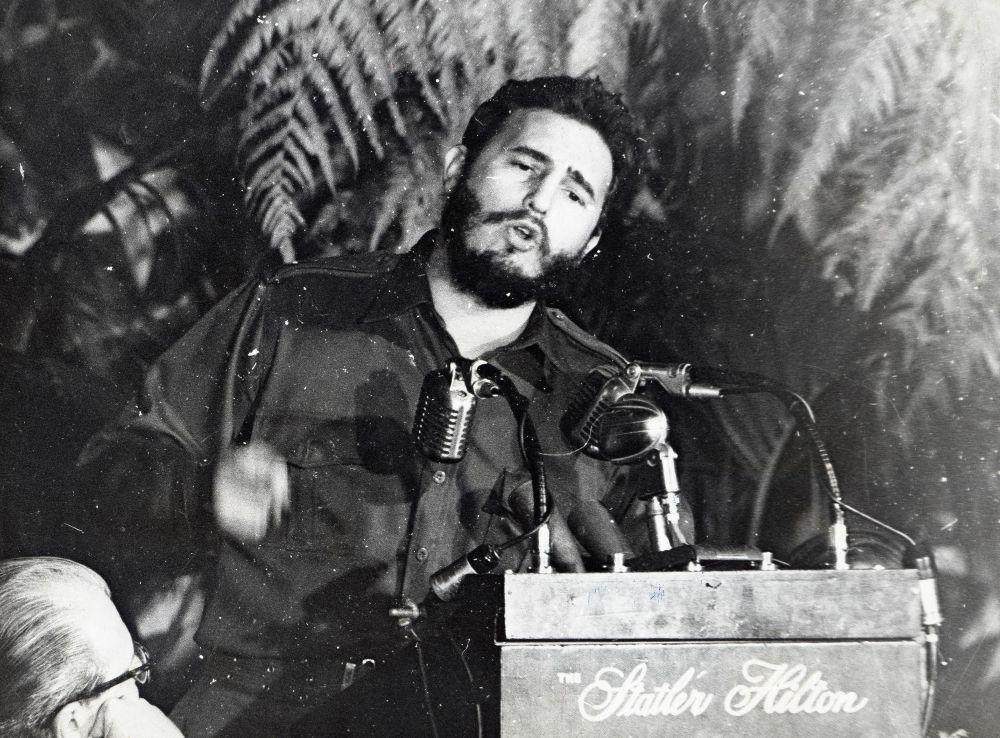 Фидель Кастро. 1959 год.