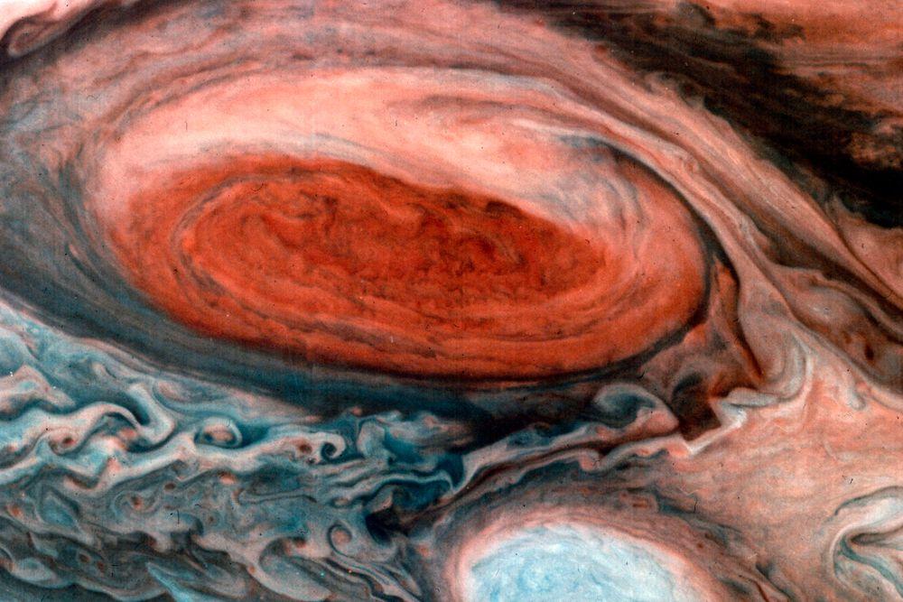 «Вояджер-1». Снимок Юпитера. Март 1979 года.
