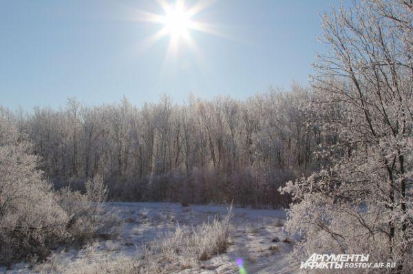 Погода была, словно по заказу - морозно и солнечно!