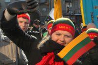 Литовцы поддерживают Украину