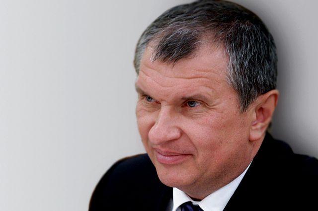 Игорь Сечин, главный исполнительный директор и председатель правления ОАО «НК «Роснефть».