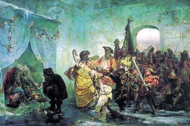 В. Якоби «Ледяной дом» (1878).