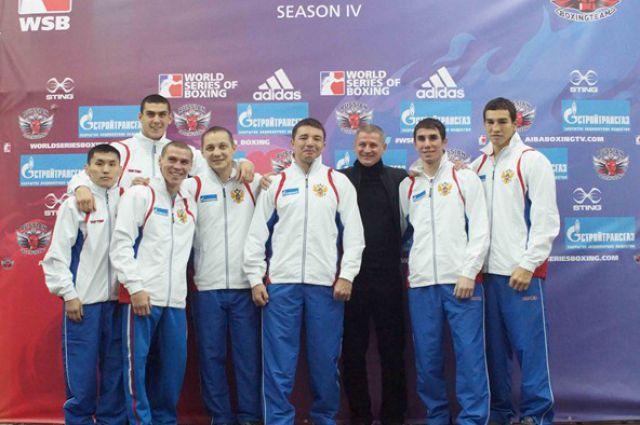Команда боксеров России