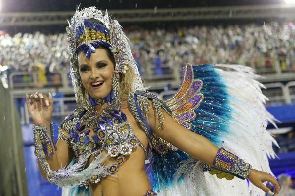 Самые яркие девушки фестиваля в Рио-де-Жанейро