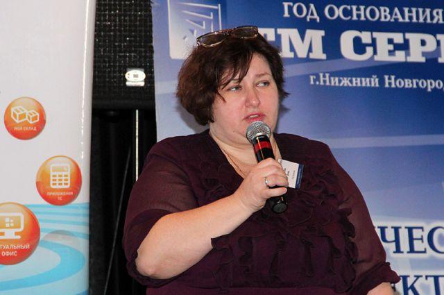 Коммерческий директор Нижегородского филиала ОАО «Ростелеком» Анна Блинова
