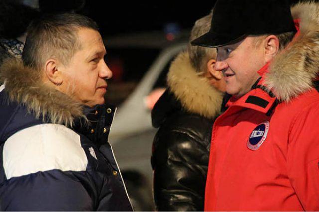 Встреча в аэропорту Елизово.