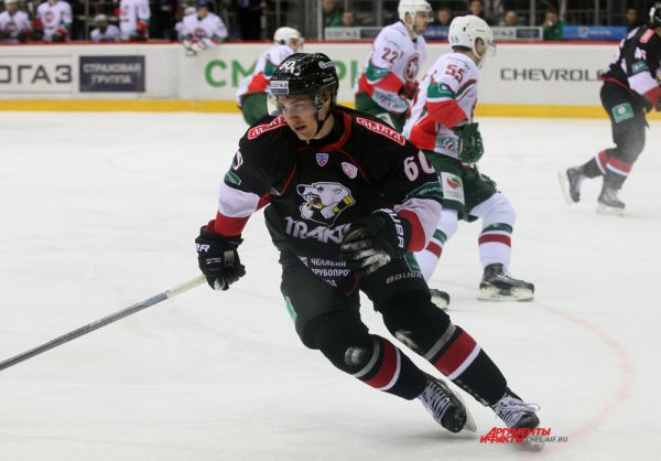Нападающий Артём Пеньковский