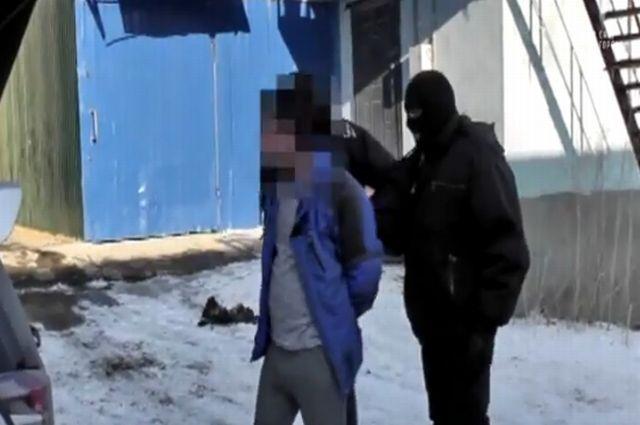 Задержание наркоторговца во Владивостоке.