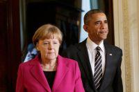 Ангела Меркель и Барак Обама.