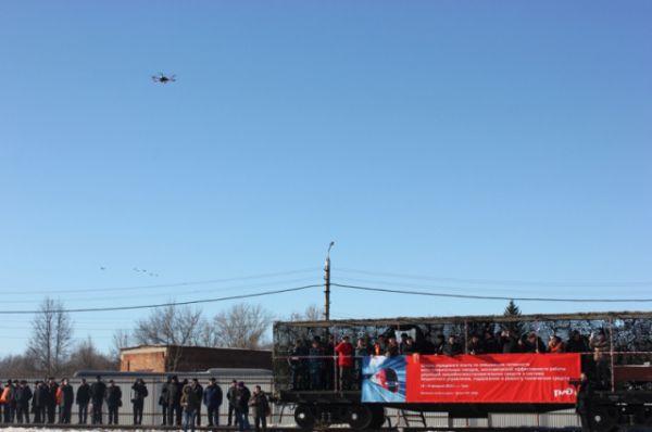Мониторить ситуацию с воздуха спасателям помогали беспилотные летательные аппараты «Зала».
