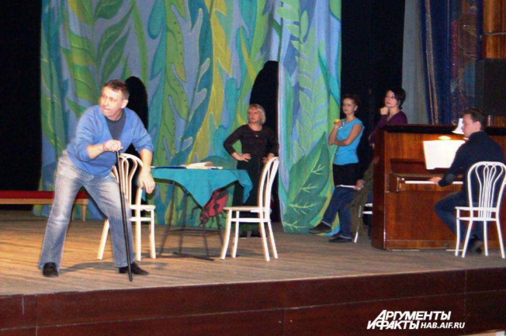 Приглашены молодые артисты из Новосибирска