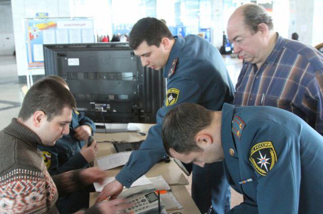 Беженцы на вокзале Ростов-Главный получают всю необходимую помощь