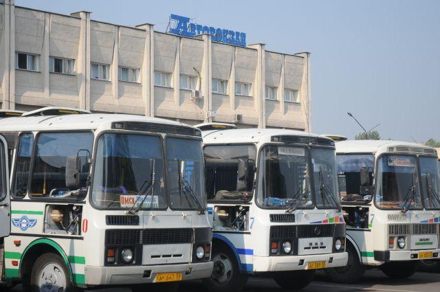 На омском автовокзале продолжается модернизация.