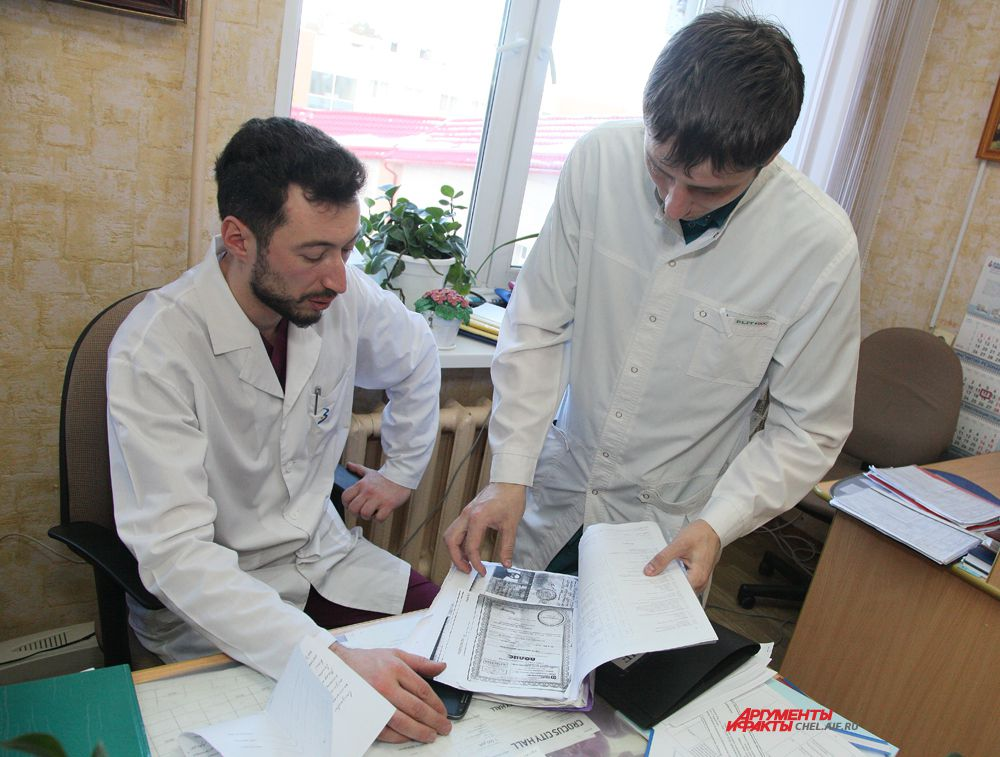 обсуждение плана лечения больного в отделении абдоминальной онкологии