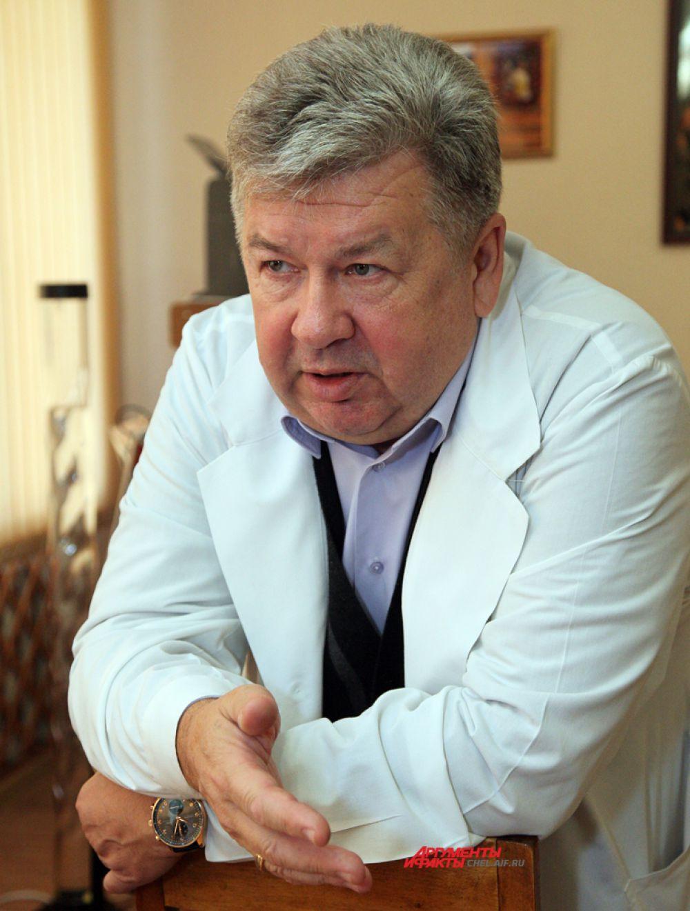 Важенин А.В.,главный врач Челябинского окружного клинического диспансера