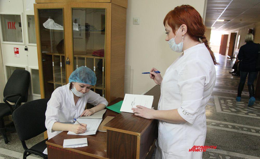 пост  № 1 отделения абдоминальной онкологии