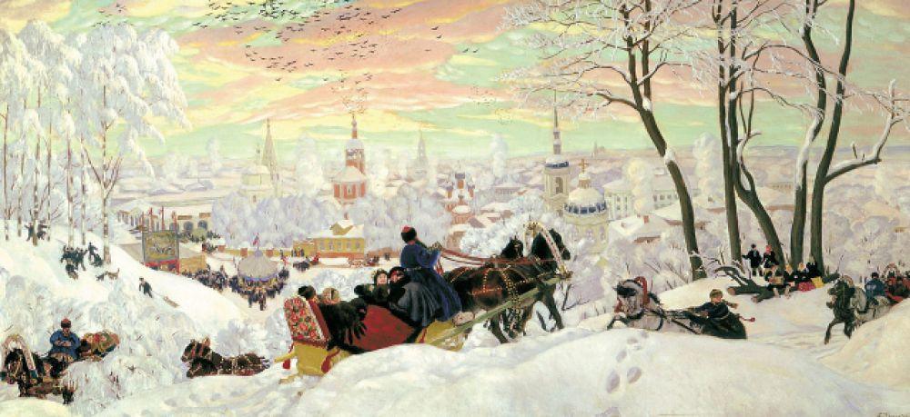 Борис Кустодиев, «Масленица». 1903
