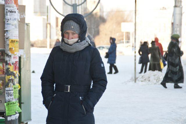 В Омске сейчас довольно прохладно.