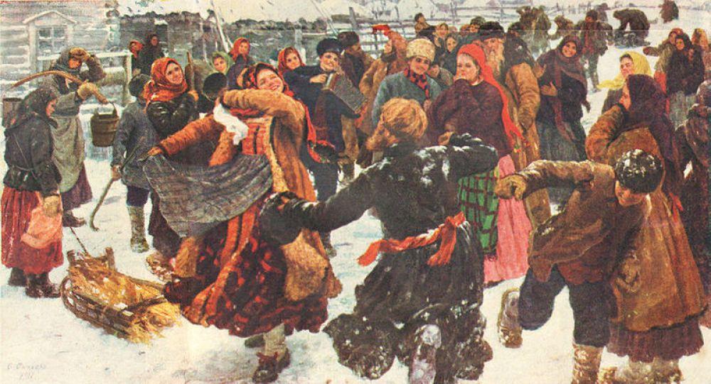 Федор Сычков, «Пляска». 1911