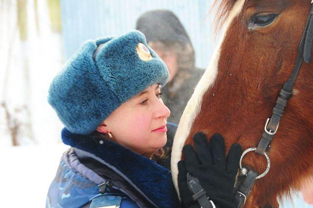 В Омске появилась своя кавалеристская рота.