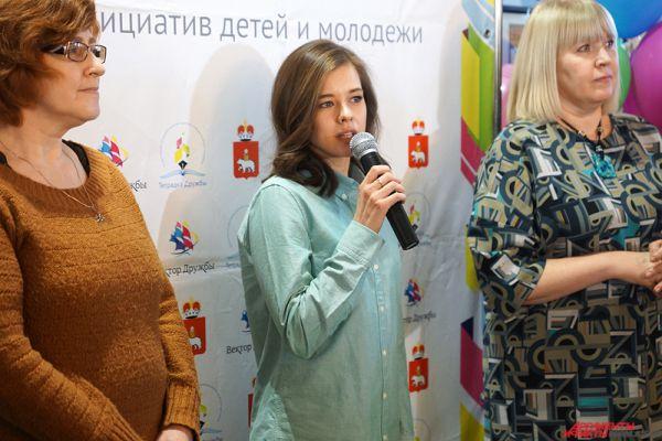 Катерина Шпица приняла участие в мастер-классе, посвященном благотворительному конкурсу «Тетрадка дружбы» в рамках проекта «Все дети хотят дружить».