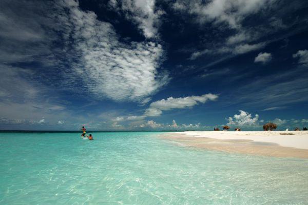 4. Playa Paradiso Beach, Кaйо-Ларго, Куба.