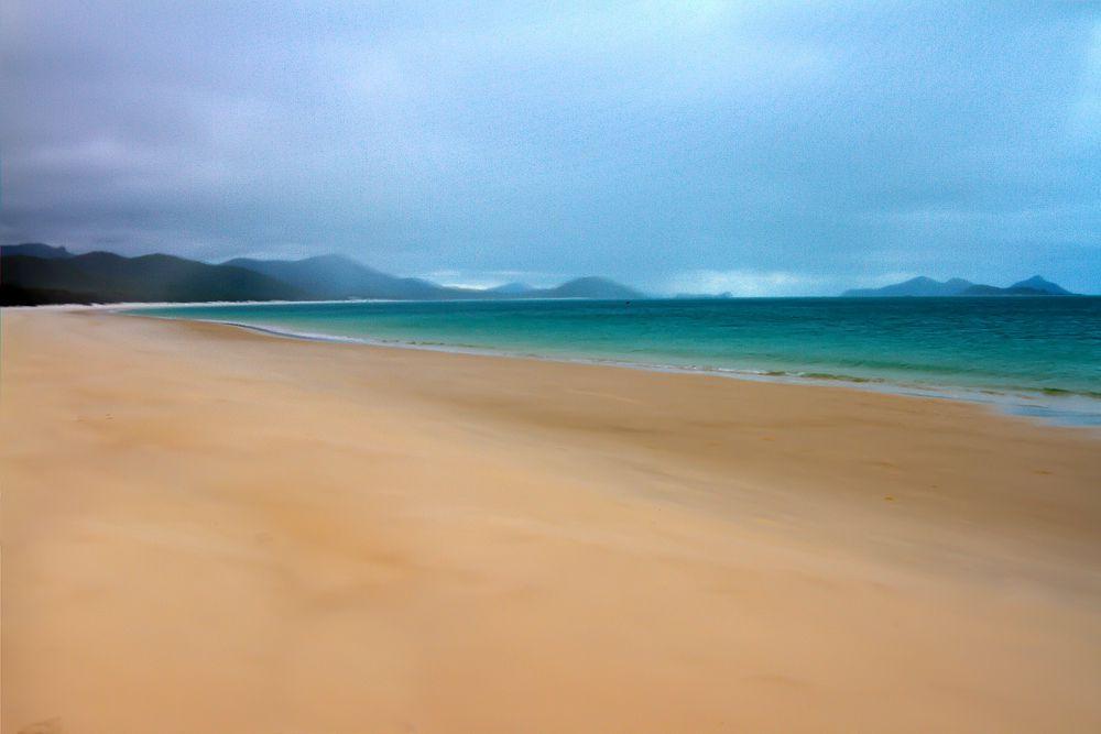 9. Whitehaven Beach, архипелаг Уитсанди, Aвстралия.