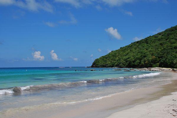 8. Flamenco Beach, Кулебра, Пуэрто-Рико.
