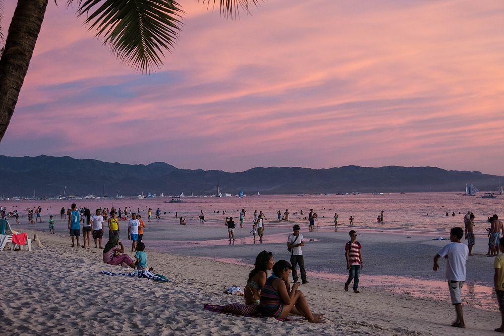 7. White Beach, Бoракай, Филиппины.