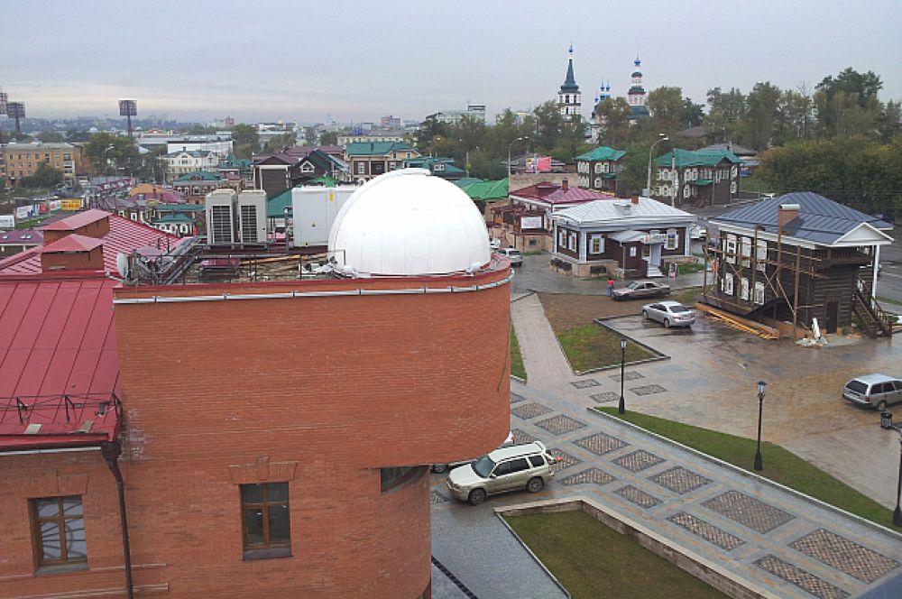 Планетарий расположен в 130-м квартале Иркутска.
