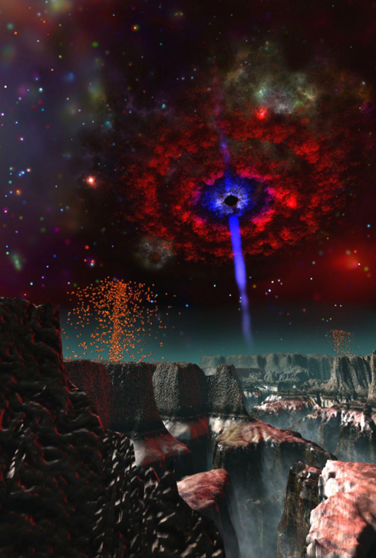 Массу впечатлений доставит вам полнокупольный фильм «Черные дыры. Путешествие в неизведанное».