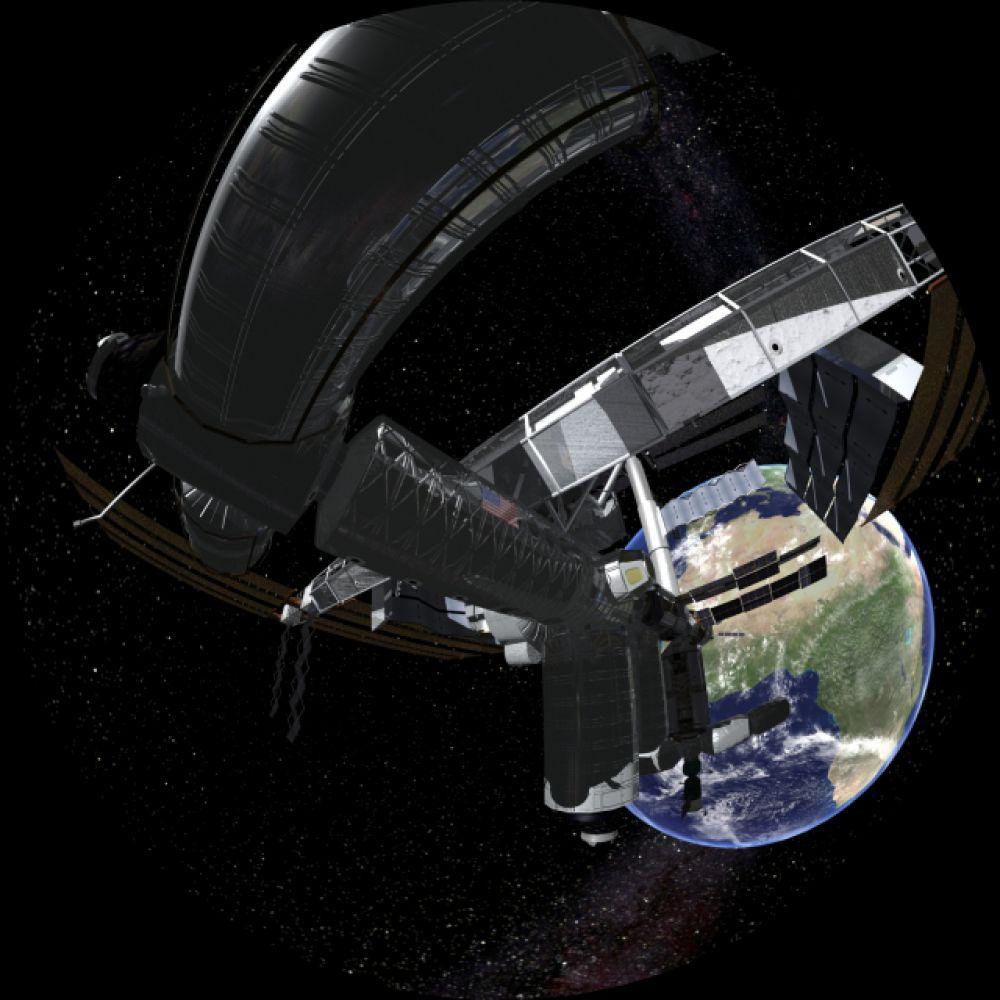 Полнокупольный фильм «Путешествие по Солнечной системе» позволит совершить короткое виртуальное путешествие среди планет.