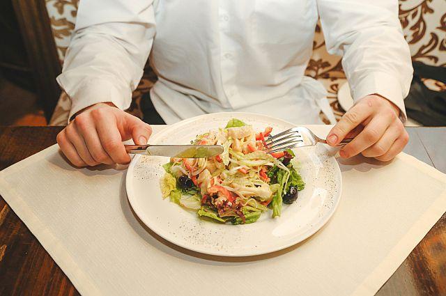 Салат для мужчин.