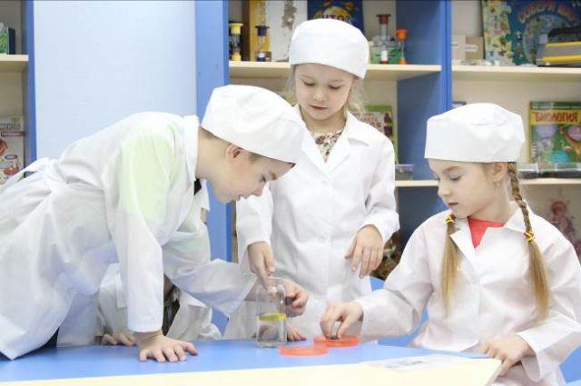 В детском саду «Филиппок» есть собственный исследовательский центр.