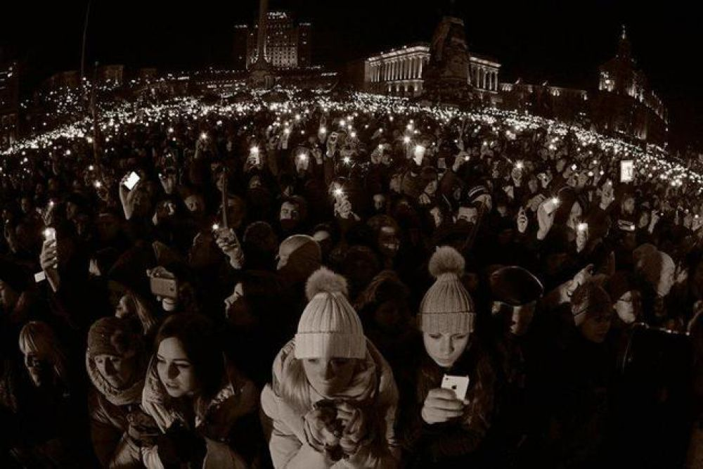 Годовщина расстрелов на Майдане – самые яркие фото украинской революции