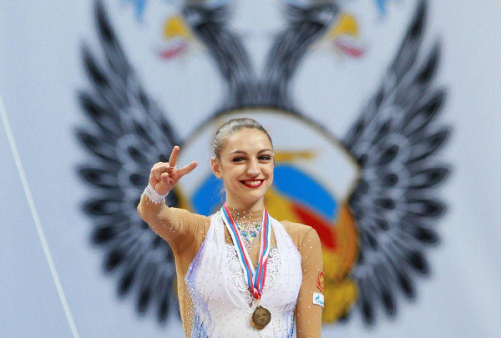 Евгения Канаева. Двукратная Олимпийская чемпионка, 17-кратная чемпионка мира в художественной гимнастике