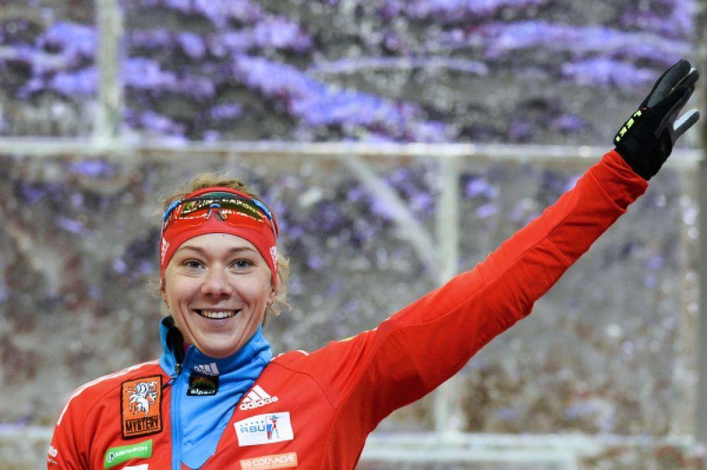 Ольга Зайцева. Двукратная Олимпийская чемпионка и трехкратная чемпионка мира в биатлоне