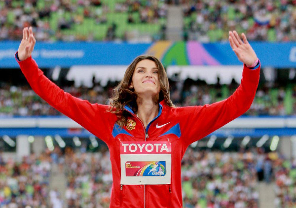 Анна Чичерова. Олимпийская чемпионка, чемпионка мира в прыжках в высоту