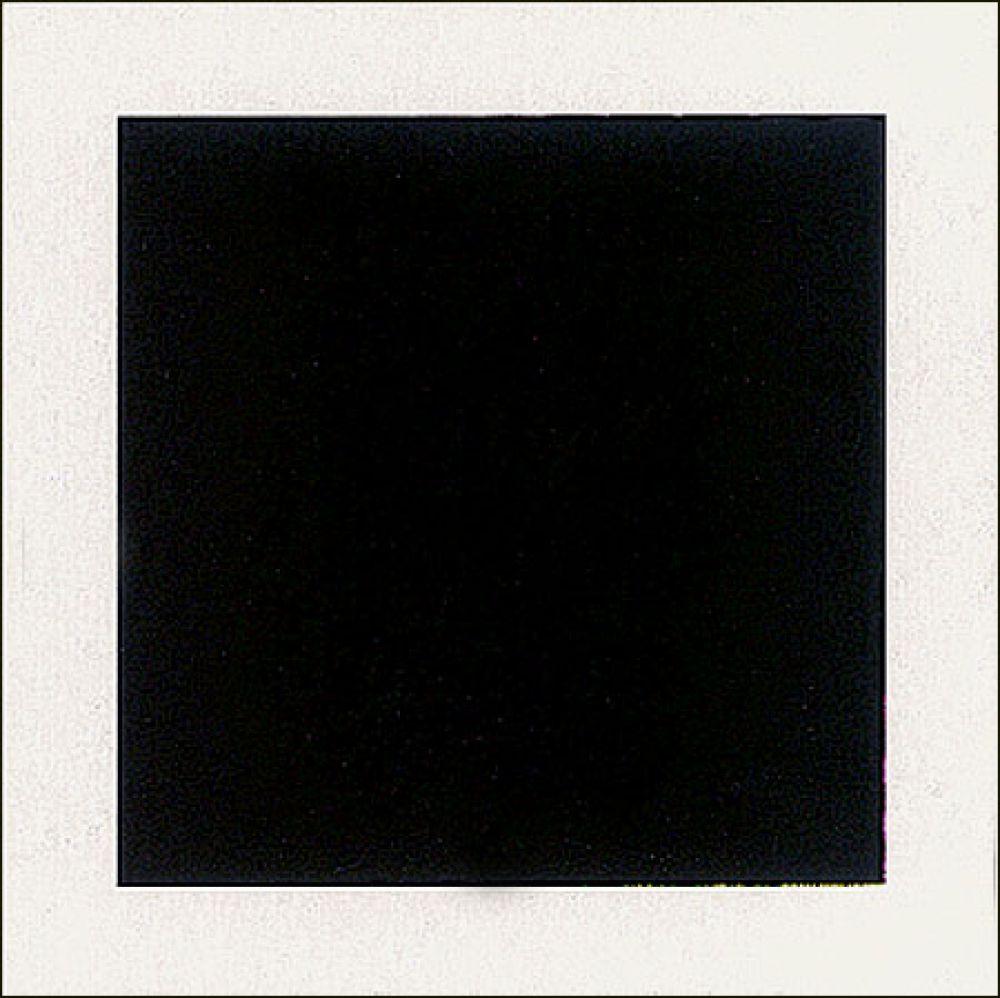 """39 картин под общим названием «Супрематизм живописи» он выставляет на «Последней футуристической выставке картин """"0,10""""». Среди них – самое знаменитое произведение художника – картина «Черный квадрат» (1915), явившаяся живописным манифестом супрематизма. По замыслу художника «Черный квадрат» был частью триптиха, куда входили также «Черный круг» и «Черный крест»."""