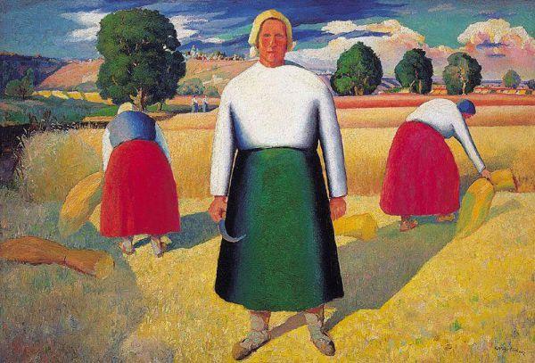 Группа художников, образовавшая вокруг Малевича, стали называть себя творческим объединением «УНОВИС» (Утвердители Нового Искусства). Уной - в честь УНОВИСа -художник позже назовет свою дочь, родившуюся в 1920 году. Персональные выставки в Варшаве и Берлине ждали художника в 1927 году: все демонстрировавшиеся картины художник оставил за границей.