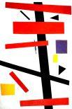 В 1918 году художник работает над костюмами для театральной постановки Мейерхольда по пьесе Маяковского «Мистерия-Буфф». В 1919 году начался Витебский период художника. Здесь он руководит мастерской в Народном художественном училище, которую возглавил Марк Шагал. Художник пишет много теоретических работ, которые в итоге объединяет в курс лекций «О новом искусстве», самую главную теоретико-философскую работу «Супрематизм. Мир как беспредметность или вечный покой» и брошюру «Бог не скинут. Искусство, церковь, фабрика».