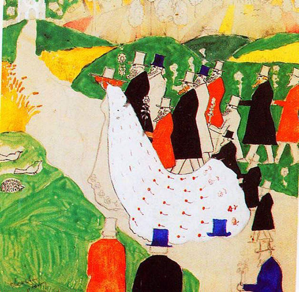 После переезда семьи в Курск в 1896 году Малевич стал работать чертежником в Управлении Московско-Курской железной дороги. В 1899 году он женится на польке Казимире Зглейц. Но жажда творчества не оставляет его: дважды Малевич пытался поступить в Московское училище живописи, ваяния и зодчества и дважды получал отказ.